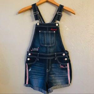 Girls Jordache overall shorts